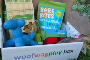 Woof Wag Play Box