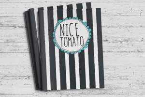 Nice Tomato Color Folios
