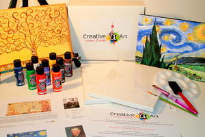 Art Lesson Box