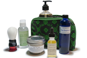 Green Beauty Bag
