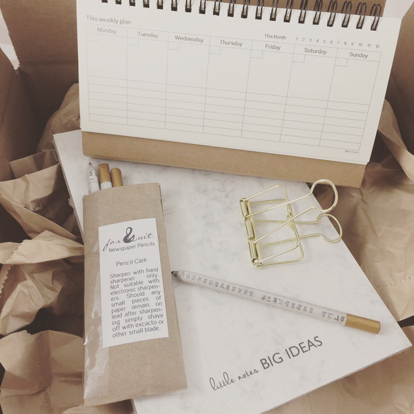 Paper and Pen Box