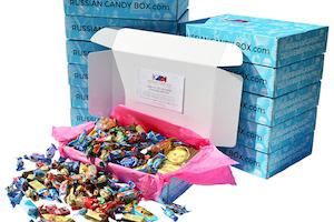 Russian Candy Box