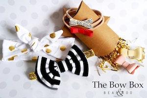 Bow Box by Bear & Boo