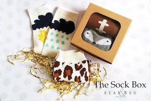 Sock Box by Bear & Boo