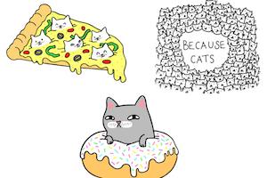 Cat Sticker Club
