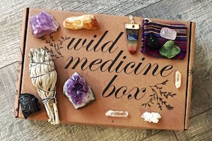 Wild Crystals Box by Tamed Wild Apothecary
