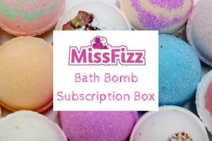 Miss Fizz Bath Bomb Box