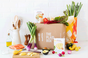 The Plaid Box by Munchery