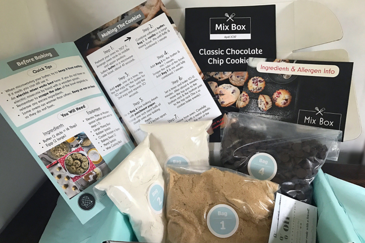 Mix Box by Homemade Bakers