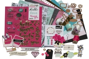 Spellbinders Card Kit of the Month Box