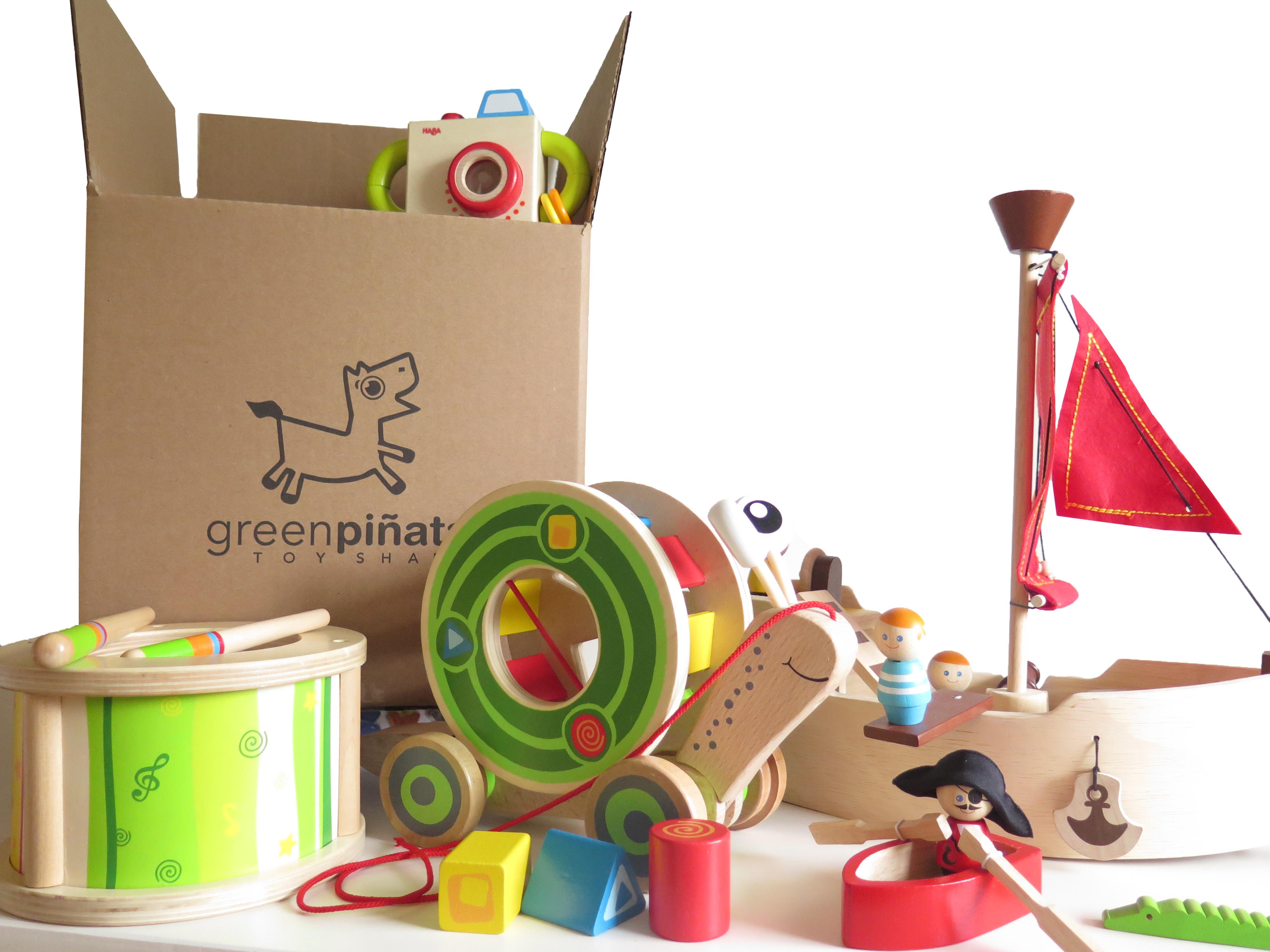 Green Piñata Toys