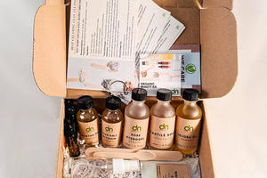 DIY Organic Beauty Box by DarNaturals