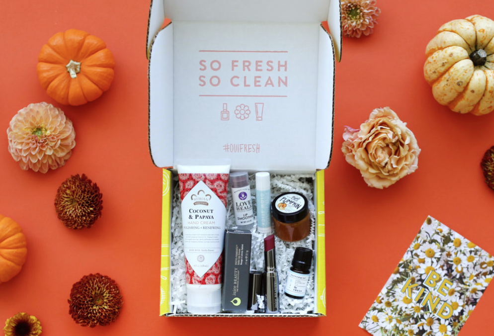 Oui Fresh Beauty Box