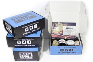 Natural Groom Box