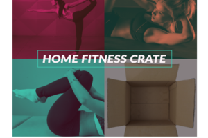 Home fitness crate