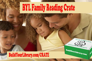 Family Reading Crate