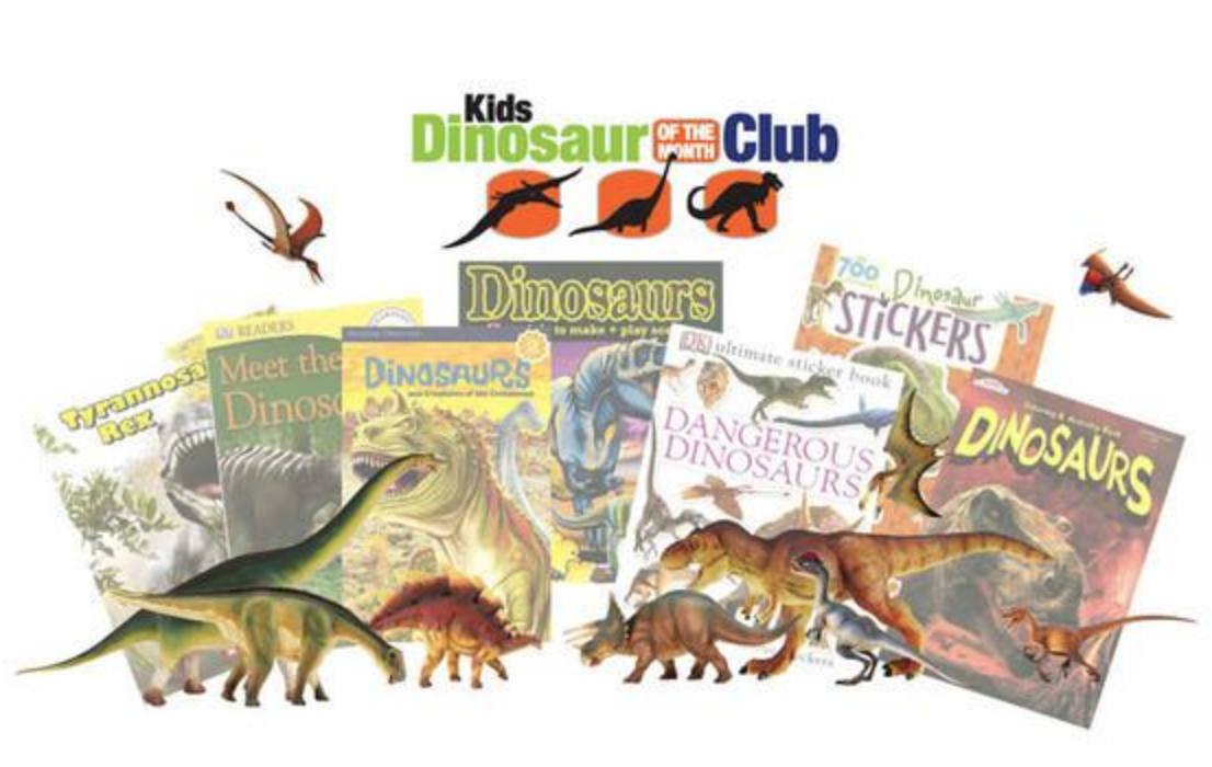 Kids Dinosaur of the Month Club